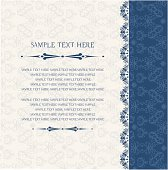 Vintage background, invitation and greeting card