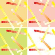set of light seamless patterns with lines