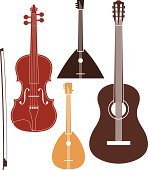 Musical Instrument. Set