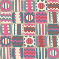 Seamless abstract colorful pattern