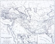 Engraving: Kingdom of Alexander the Great
