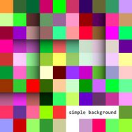 vector colorful squares