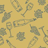 Seamles wine pattern