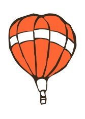 floating fire balloon