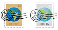 Stamps Series Earth Day Postage