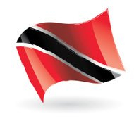 Trinidad and Tobago Flag Waving