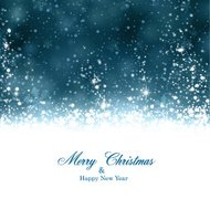 Christmas dark blue abstract background.