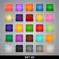 Set Of Colorful App Icon Templates, Frames, Backgrounds.