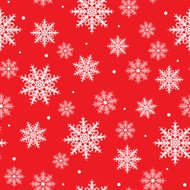 seamless background with snowflake design