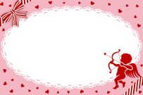 Valentine's Day Greeting Card,Cupid -EPS10