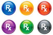 pharmacy symbol royalty free vector icon set