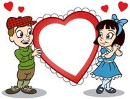 Kids and Heart In Love