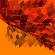 abstract rhombus pattern background
