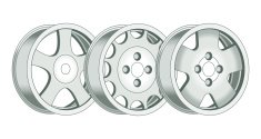 Chrome Wheels C