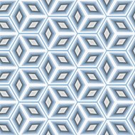 blue abstract rhombus pattern background