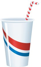 Paper Cup Straw C