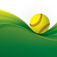 Girls Softball Background