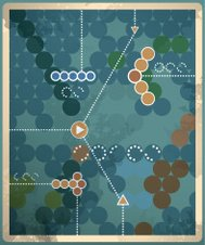 Retro vintage abstract background with infographics