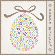 Colorful Easter Ornament