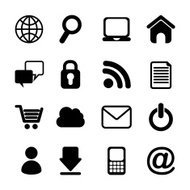 Internet Icons Design