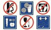 Healthy lifestyle icons (objects)