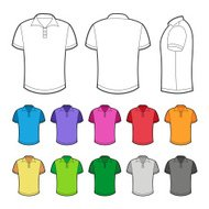 Polo in various colors.