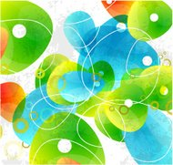 Abstract vector glass color shapes background