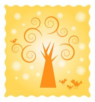 Sunny Spiral Tree Two
