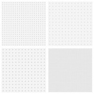 Vector textures of blurred gray dots