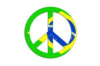 Peace and love symbol.