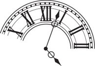 Partial Clock Face