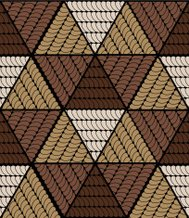 abstract brown rhombus pattern background
