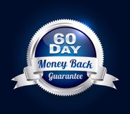 Silver 60 Day Guarantee Badge