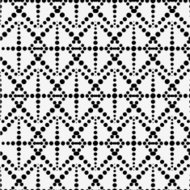 abstract black and white dot pattern background