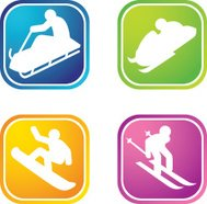 Winter Sports Icons C
