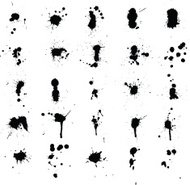 Ink Splatters