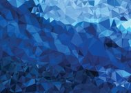 Background modern texture triangle geometry abstract strong blue