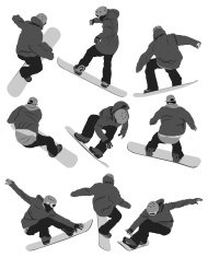 Snowboarding collection