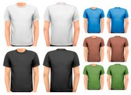 Black and white color men t-shirts.