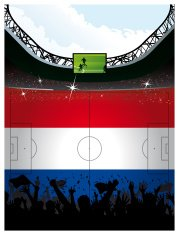 Soccer Arena Theme Netherlands