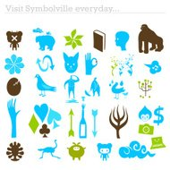 Visit Symbolville everyday collection of symbols
