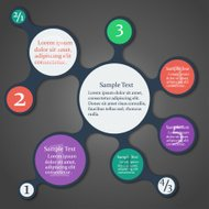 Modern design template banners for infographics business design