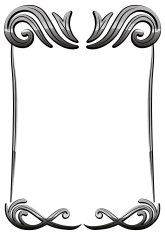 Vector decorative vintage black frame 02