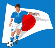 Japan soccer player