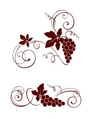 Vine with swirls