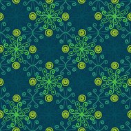 Abstract floral spring pattern