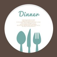 Food Concept Vector Template
