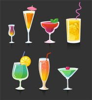 Drink drinks cocktail alcohol glasses