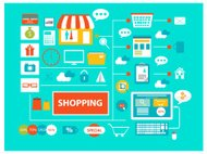 Shopping communication concept