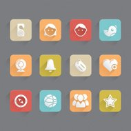 Linned Icons - Social Media